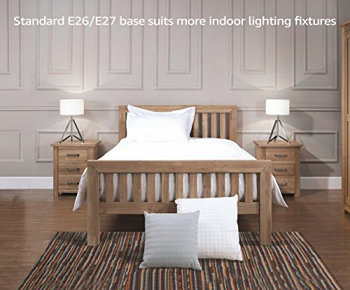 Garage Bulb, A19 Light Bulb, Lumens Ultra-Bright, 5000K Non-Dimmable, Standard E26 Base, Damp Location rated