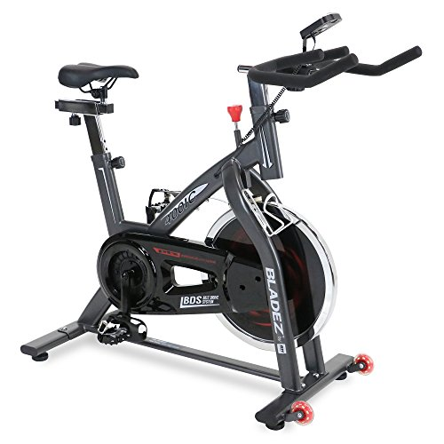 BladeZ Trainer Home Workout Upright Cycle Stationary Cardio Exercise Bicycle
