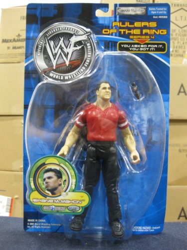 WWF Rulers Of The Ring Series 4 Shane McMahon by Jakks Pacific 2001 - Wwe Action Figures 2001