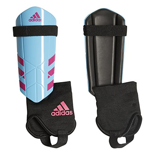 adidas Youth Ghost Soccer Shin Guards (L, Shock Pink/Bright Cyan) ()