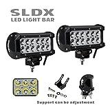 6 inch led spot lights - SLDX 2PCS 36W 6Inch CREE LED Light Bar Spot Beam for Driving Offroad Boat Car Tractor Truck 12V