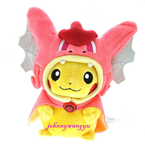 gg New Center 8'' Gyarados Pikachu Magikarp Plush Stuffed doll toys- (Skyla Costume)