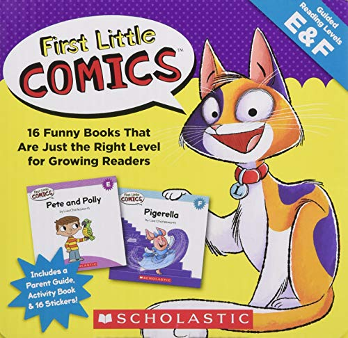 (First Little Comics Parent Pack: Levels E & F: 16 Funny Books That Are Just the Right Level for Growing Readers)