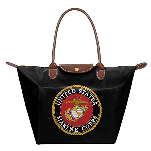US Marine Corps Foldable Large Stylish Waterproof Tote Shoulder Bags
