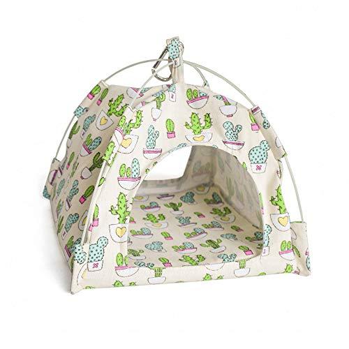 Bird Tent - Mydays Bird Nest House Bed, Parrot Hamster Habitat Cave Hanging Tent Hammock (White)