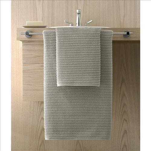 Kassatex Urbane Collection Towel Set, 12 Piece Set - Graphite by Kassatex
