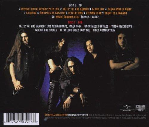 cd dragonforce valley damned 2003