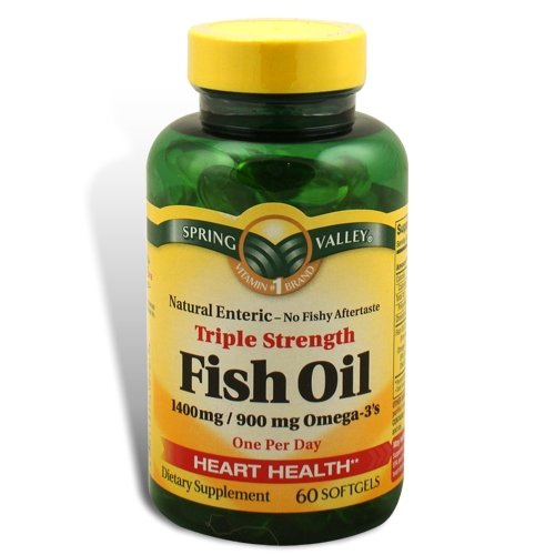 Compare price to omega 3 1400mg spring valley for Viva naturals triple strength omega 3 fish oil