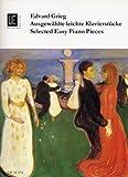 Edvard Grieg: Selected Easy Piano Pieces