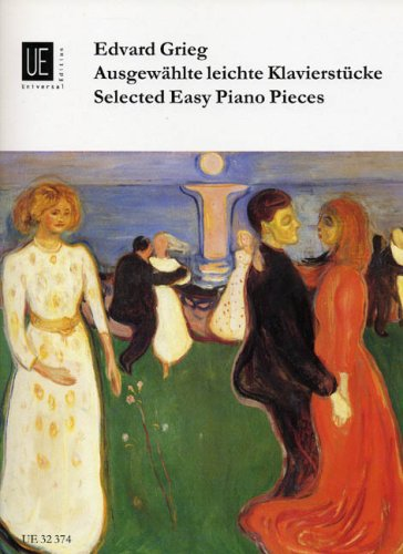 Edvard Grieg: Selected Easy Piano Pieces by Univeral Editon