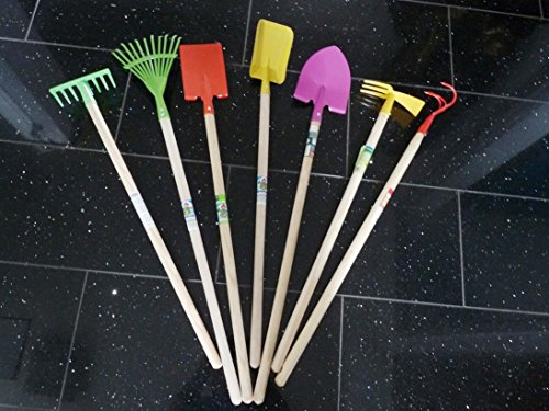 Gartenwerkzeug für Kinder, 7teilig