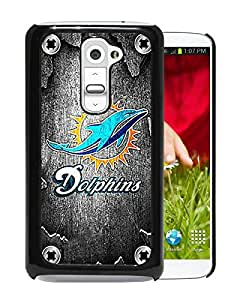 Miami Dolphin Black LG G2 Screen Phone Case Nice and Unique Design