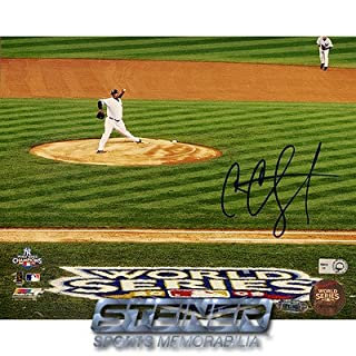 Steiner Sports MLB CC Sabathia 2009 WS Home Jersey Pitching Wide Angle Horizontal Autographed 8-by-10-Inch Photograph (B001TPS5YI) | Amazon Products