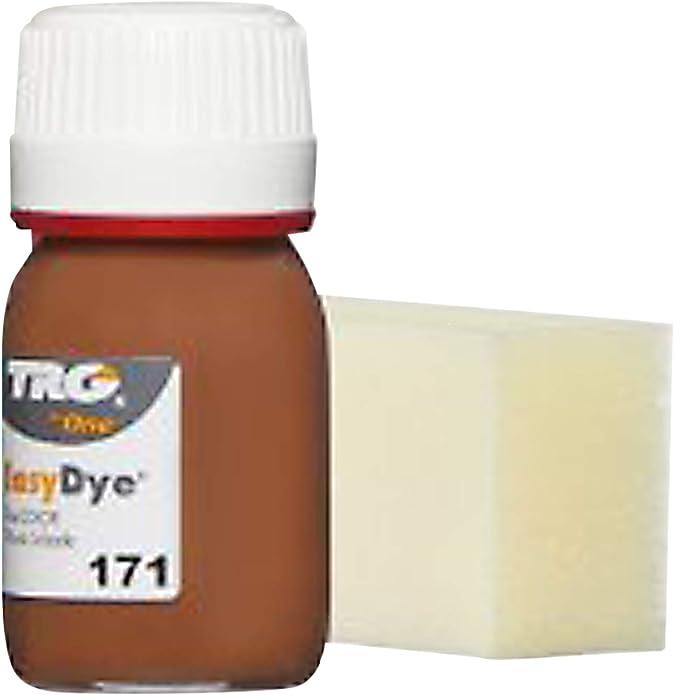 TRG The One - Tinte para Calzado y Complementos de Piel | Tintura para zapatos de Piel, Lona y Piel Sintética con Esponja aplicadora | Easy dye, 25 ml