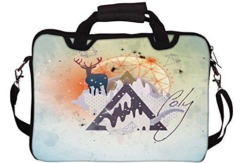 Snoogg Astro Coole Gedruckt Notebook-Tasche mit Schultergurt 15 bis 15,6 Zoll