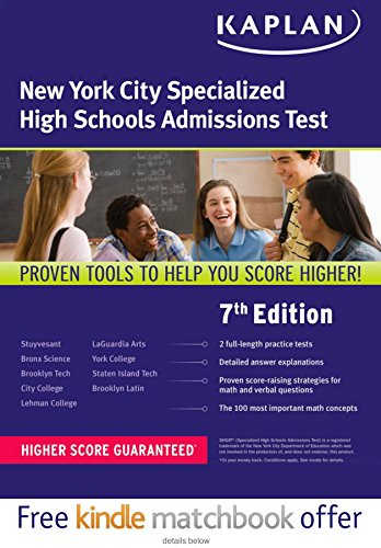 Kaplan New York City Specialized High School Admissions Test (Kaplan Test Prep)