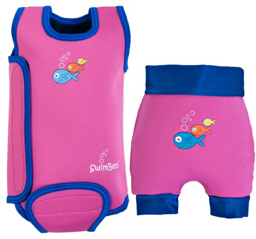 SwimBest Baby Wetsuit Swim Nappy Set SUPER SAVER Various Colours Birth 2 yrs
