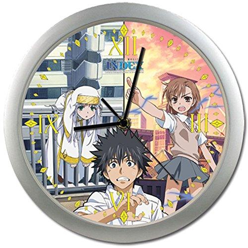 A Certain Magical Index Touma, Misaka, Index Wall Clock
