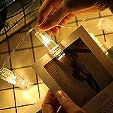 LED Photo Clip String Lights,20 LED Photo Clips USB