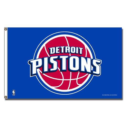 Detroit Pistons NBA 3x5 Flag