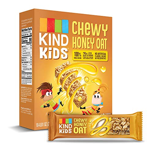 KIND Kids Granola Chewy Bar, Honey Oat, 10 Count (6 Pack) (Best Honey For Kids)