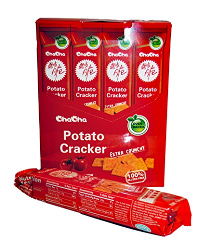 ChaCha Oven Baked Potato Cracker Tomato Flavor by ChaCha