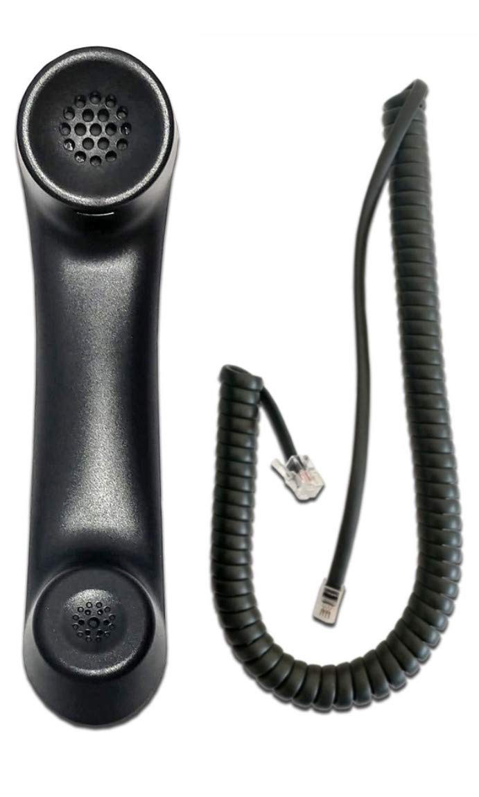 ShoreTel 400/655 Series Compatible handset with Curly Cord (HD)