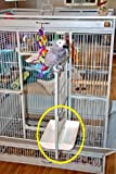 13″ White DoorSkirt Set **No More Newspaper Under Your Cage Door! (also available in 8″and 11″ in Black or White), My Pet Supplies
