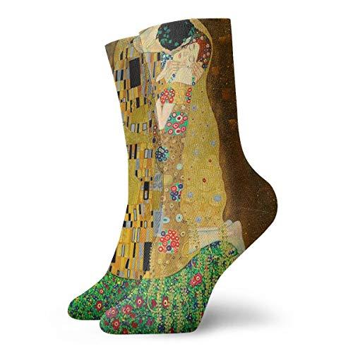 Gustav Klimt The Kiss Men & Women Fashion Cute Novelty Funny Casual Art Crew -