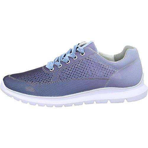 Ville Femme à Chaussures de Bleu Pour Lacets Marco Tozzi Ht6qwT6
