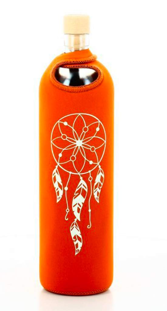 flaska Botella Spiritual neopreno - 0,75 l flaska, orange - Traumfänger: Amazon.es: Deportes y aire libre