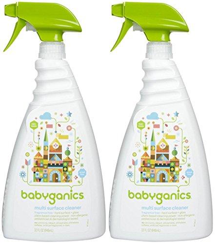 Babyganics All Purpose Cleaner - Fragrance Free - 32 oz - 2 pk