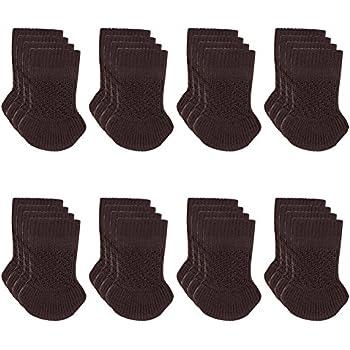 Cuccu 32pcs Chair Leg Socks Knitting Wool Furniture Feet Socks/ Chair Leg  Floor Protector