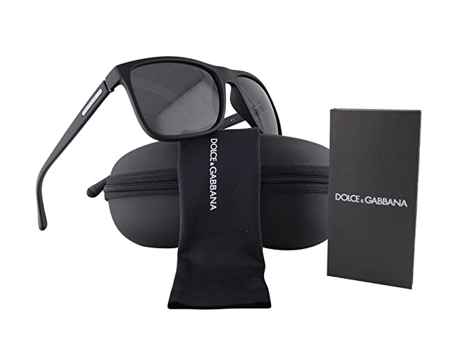 deae8da8df3 Image Unavailable. Image not available for. Colour  Dolce   Gabbana DG6086  Black Rubber ...