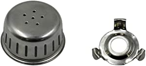 3 Pack 2in1 Aluminum Pressure Cooker Relief Jigger Valve Replacement Part Stainless Steel Anti Blocking Shield Cover Pressure Cooker Anti Cover Hood