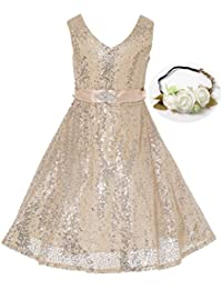 Amazon.com: Gold - Dresses / Clothing: Clothing, Shoes & Jewelry
