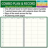 Combination Plan and Record Book: One efficient