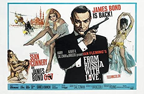 Image result for from russia with love poster amazon