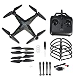 Mini RC Quadcopter Drone 2.4GHz Remote Phone Control Helicopter Drone(Black without Camera)