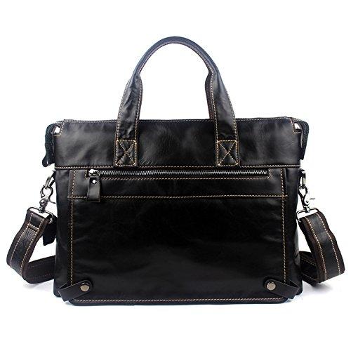Hombro Bag Shoulder Casual Handbag Solo Briefcase Business ZL stb Blanco Mens Profundo OCqWf