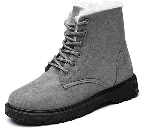 chaussures bottes pour mode chaussures femmes pour sport en bottes 003 explosions de de neige décontractées coton KUKI Chaussures femmes xY6q6fB
