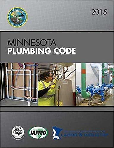 Amazon 2015 Minnesota Plumbing Code 9781938936876