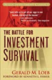 The Battle for Investment Survival, Gerald M. Loeb, 0470110031