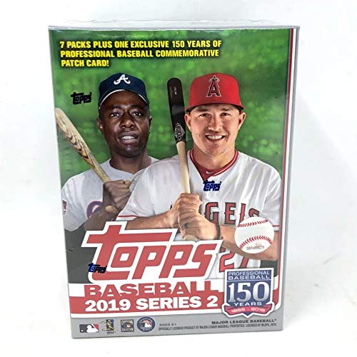 Topps Mlb Box - Topps 2019 Series 2 MLB Baseball Relic Box - Retail