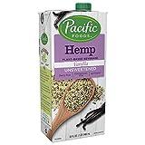 Pacific Foods Hemp Unsweetened Vanilla Plant-Based Beverage, 32oz