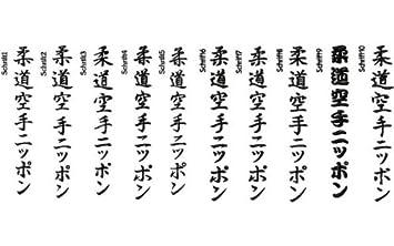 Budoten Schriftzeichen Kung Fu Chinesisch Amazonde Sport Freizeit