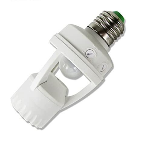 E-Greetshopping E27 Lámpara Soporte de Luz Bulbo Cambiar PIR Infrarrojos AC110V Sensor de Movimiento