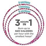 Empower Hoola Hoop for Women Adjustable Size Fitness Hoop, Dance Hoop, Cardio, Fitness