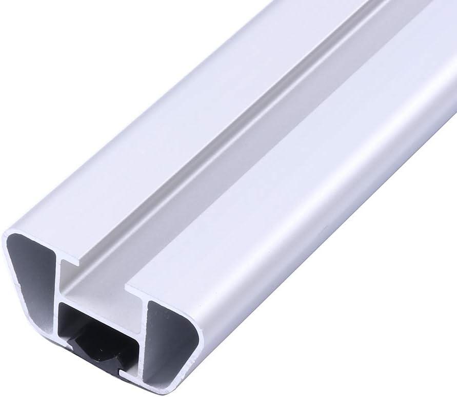 ECCPP 48 Roof Rack Crossbars fit for Chevy Cruze//Chevy Malibu//Cadillac Impala//Honda Civic//Toyota Camry Aluminum Black Bar w// 3 Kinds Clamp