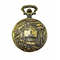 2017 Canada 150 Birthday Regulation Railway Pocket Watch 4 of Novelty Anniversary Collection With Japanese Quartz Movement, Licence C-12242